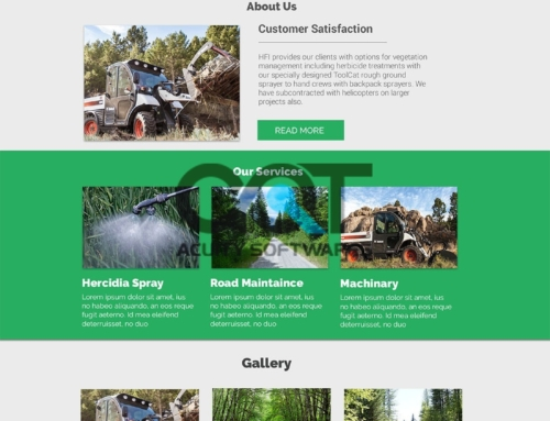 HFI FIELD SERVICES WEBSITE DESIGN