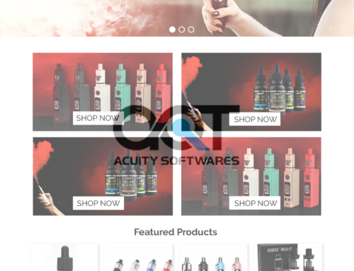 LOVE VAPE WEBSITE DESIGN